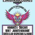 Cartel Jardín de las Delicias 2018