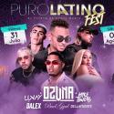 Cartel Puro Latino Fest Cádiz 2020