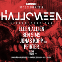 Cartel Halloween Lisbon Festival 2018