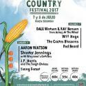 Cartel Huercasa Country Festival 2017