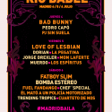 Cartel Festival Río Babel 2019