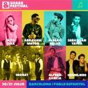 Cartel Share Festival Barcelona 2018