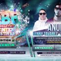 Cartel RBF Reggaeton Winter Festival (Valencia) 2019