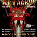 Cartel Thrash Attack Festival 2019