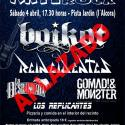 Cartel Artesano Rock 2020