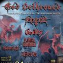 Cartel Euskal Metal Fest 2018 (Bestial Gaua)