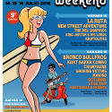 Cartel Fuengirola Pop Weekend 2016