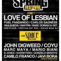 Cartel Alicante Spring Festival 2017