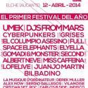 Cartel Alicante Spring Festival 2014