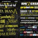 Cartel Aquelarre Metalrock Fest 2017