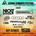 Cartel Arona Summer Festival 2015