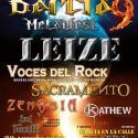Cartel Barcia Metal Fest 2014