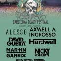 Cartel BBF Barcelona Beach Festival 2016