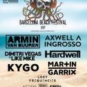 Cartel BBF Barcelona Beach Festival 2017