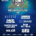 Cartel BBF Barcelona Beach Festival 2019