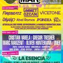 Cartel Electromar Festival 2015