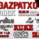 Cartel Gazpatxo Rock 2014