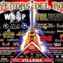 Cartel Leyendas del Rock 2014