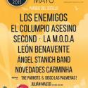 Cartel Palencia Sonora 2015