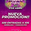 Cartel Primavera Festival Cáceres 2020