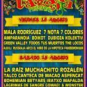 Cartel Rabolagartija Festival 2017