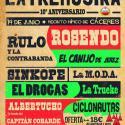 Cartel Extremúsika 2014