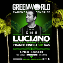 Cartel GreenWorld Festival 2015