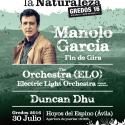 Cartel Músicos En La Naturaleza 2016