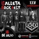Cartel Galleta Rock Fest 2020