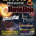 Cartel Barcia Metal Fest 2013