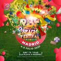 Cartel Reggaeton Beach Festival (Madrid) 2020
