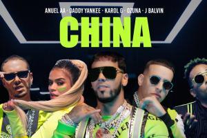 China (Anuel AA, Daddy Yankee, Karol G, Ozuna & J Balvin)