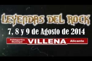 Leyendas del Rock 2014 - Promo