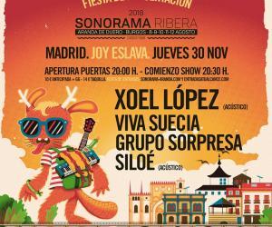 Fiesta presentación Sonorama Ribera 2018