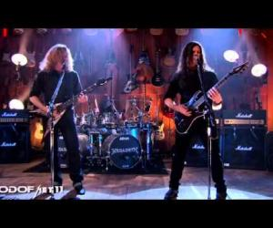 Megadeth - Angry Again / Live Guitar Center 2012
