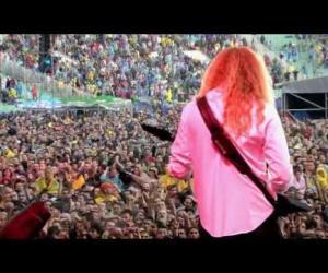 Megadeth - The Big 4 in Sofia 2010