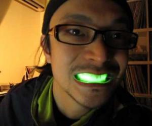 Led in my Mouth -Test3 (Daito Manabe + Motoi Ishibashi)