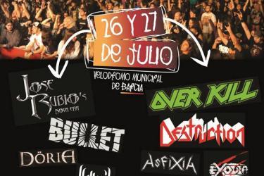 Cartel Luarca Metal Fest 2013