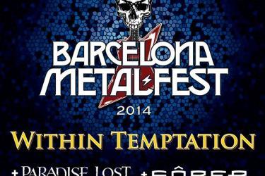 Cartel Barcelona Metal Fest 2014