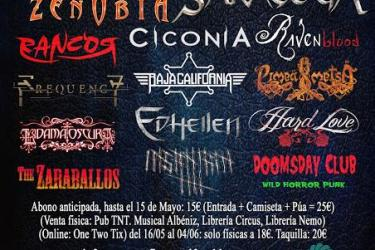 Cartel On Fire Metal Fest