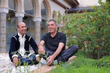 Botifarra i Ahmed Touzani