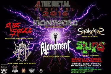Logo 4 The Metal Festival 2016