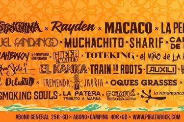 Pirata Rock Gandía Festival 2017