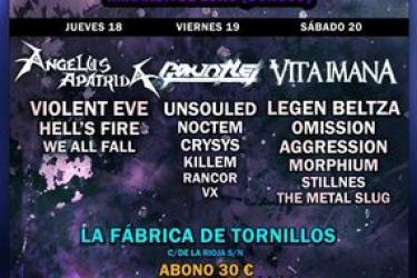 Cartel Xtreme Mas Metal Fest 2011
