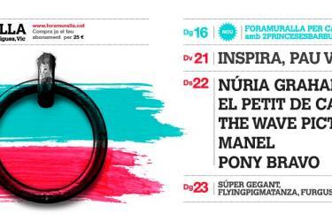 Cartel Foramuralla 2013