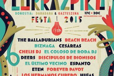 Logo Lurrazpiko Festa 2015