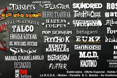 Cartel Aúpa Lumbreiras 2014