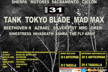 Logo Palencia Metal Rock 2015