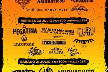 Cartel Pirata Rock Gandía Festival 2018