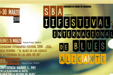 Festival Internacional de Blues de Alicante (SBA) 2019